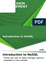 NoSQL Data Management1
