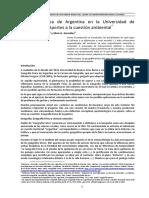 Natenzon y Gonzalez Geografia Fisica de Argentina en La Universidad de Buenos Aires