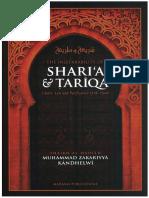 The Inseparability of Sharia Tariqa by Muhammad Zakariyya Kandhelvi_English