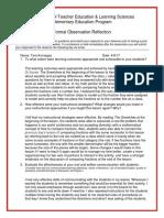 postobservationreflection  1