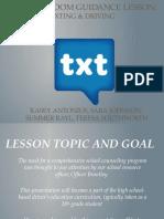 661  k 12 classroom guidance lesson