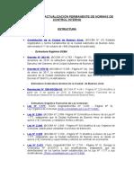 Archivo Normativo SGCBA