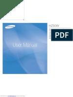 Manual hz50w
