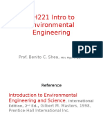 FINAL - Lecture 1 - Intro to Envi Engg