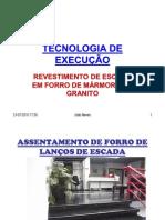 TECNOLOGIA DE EXECUÇÃO, escadas