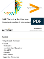 SAP TechArch - Introduction to SAP HANA 1 0 - Dec 2013 v2