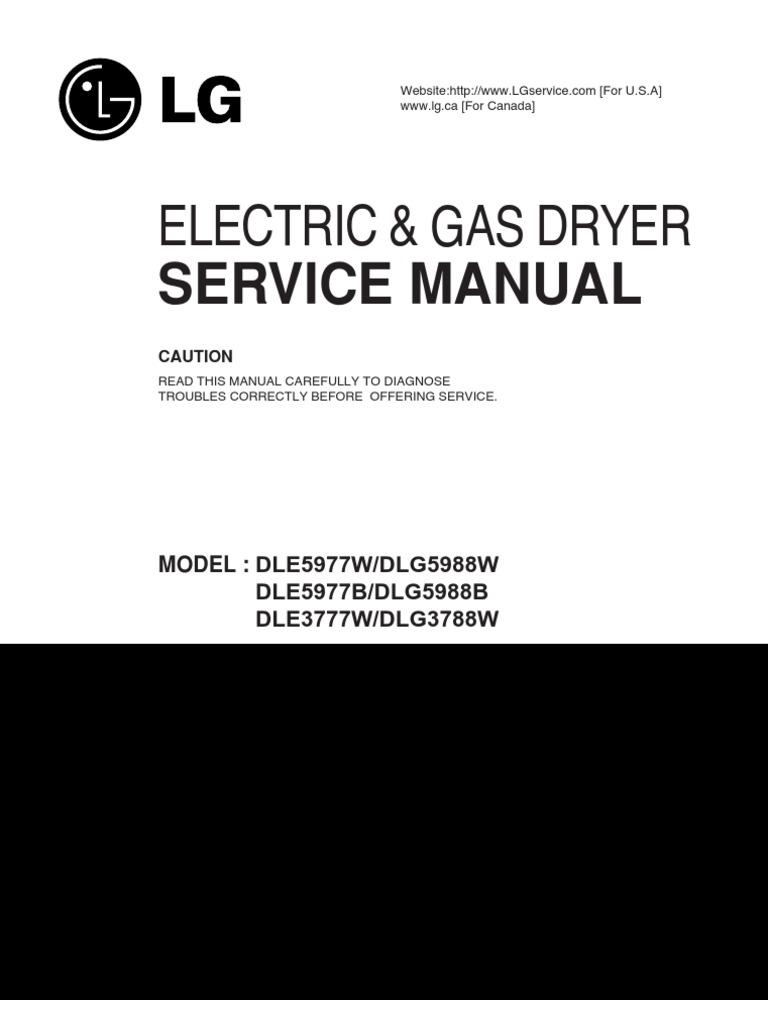 Lg dle5977w service manual pdf download.