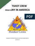 NMSDC Hotshot Crew History 2013