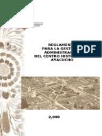 (Parametros Urbanisticos Cap.v. Art.iv) Reglamento-ch-2008