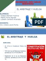 El Arbitraje y Huelga