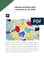 Archivos en La Nube