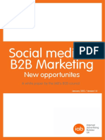 Social Media & B2B Marketing Whitepaper