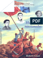 Vol 2  Colección Juvenil Heroínas Nacionales - Roberto Cassa
