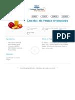 Cocktail de Frutas Aveludado _ Clube Bebé Nestlé
