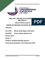 DISEÑO DE MAQUINA PICADORA DE ESCOBAJO