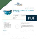 Mousse Cremosa de Pêssego e Alperce _ Clube Bebé Nestlé