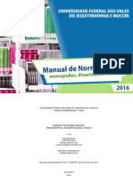 Manual Normalizacao 2016