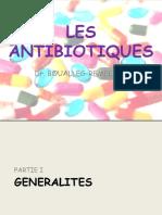 Les Antibiotiques