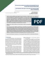 Redes Neurais Artificiais Aplicadas no Diagnóstico de Falhas de Transformadores
