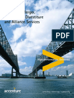 Accenture Merger Acquisition Divestitureand Alliance Services