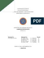 Informe 2-1. Compresores Reciprocantes