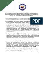 Petición presentada a la CIDH por la desaparición de Natividad Ávila y Benigno Sullca Castro
