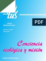 Conciencia Ecológica y Mision, Revista de Misionología, Edicion Hispanoamericana-2011