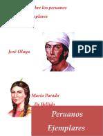 Infografía Sobre Los Peruanos