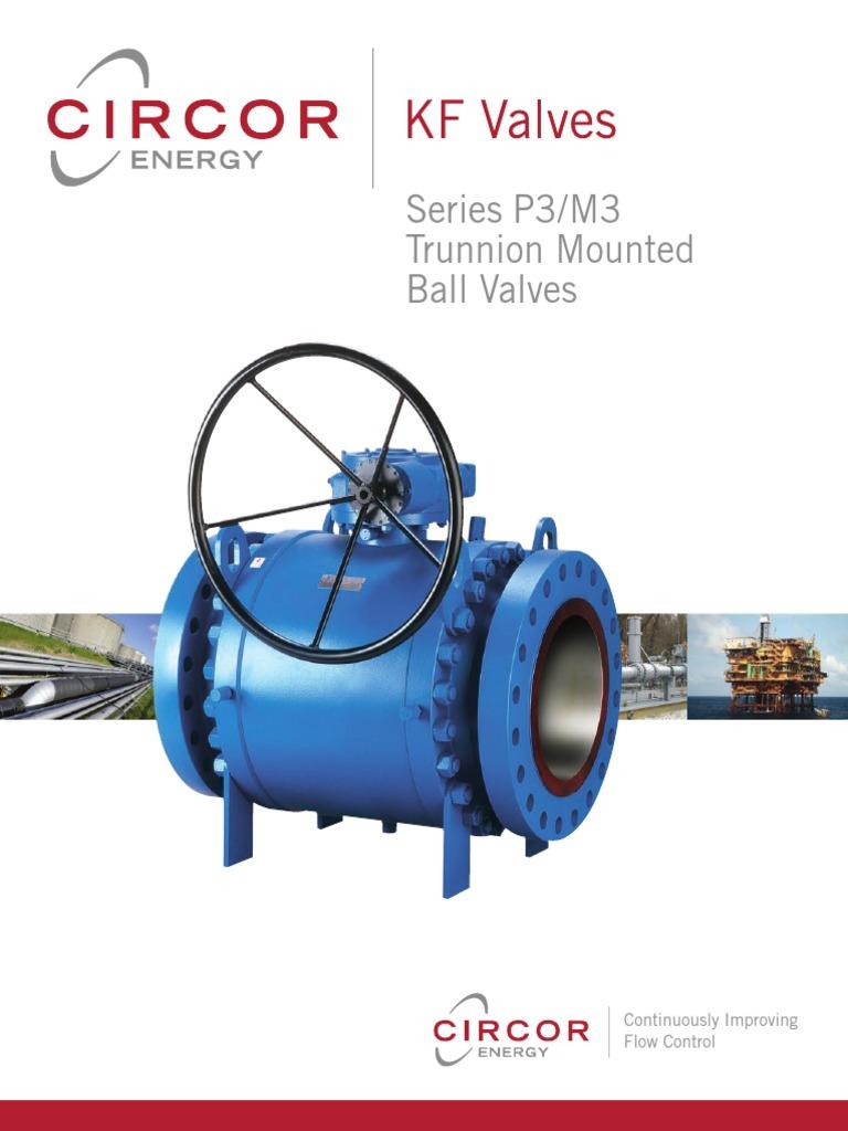 Kf Ball Seriesp3m3 Pipe Fluid Conveyance Valve