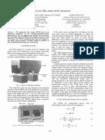 Transverse flux motor drive dynamics
