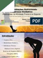 Seminário Bioquímica Suplementações Nutricionais 2014.2