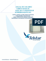 Campana de flujo laminar TELSTAR AH100 user manual LABORATORIO.pdf