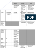 nurs 479 professional development grid