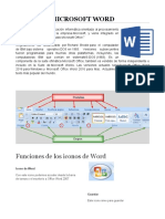 Microsoft Word e Iconos