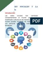Las Redes Sociales y La Educación