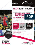 Men's Volleyball Leaflet 2017