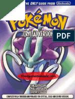 Pokemon Crystal Nintendo Guides