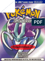 Pokemon Crystal Nintendo Guides