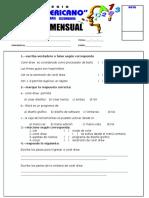 examen mensual 3ero