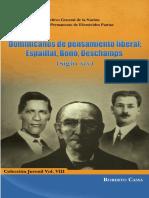 Vol 3 Col Juvenil - Dominicanos de Pensamiento Liberal Espaillat Bono Deschamps - Roberto Cassa