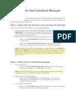 Cómo Instalar Dell Download Manager full D