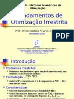 Fundamentos de Otimizacao Irrestrita