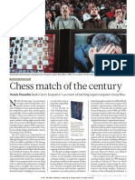 Kasparov About the Ches Game He Lost to Computers