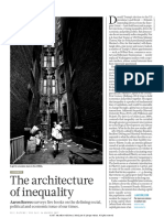 Nature Rewviews on Several Economics Books Dealing With the Architecture of Inequality