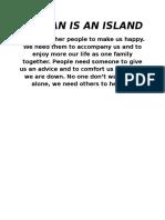 NO MAN ISLAND