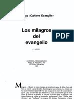 008 Los Milagros Del Evangelio - Equipo Cahiers Evangile