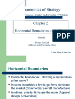 Horizontal Boundaries - Economies of Strategy chapter 2
