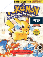 PokemonSpecialEditionYellowRed&BlueNintendoGuides