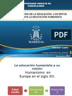 La Liberalización de La Educación. Los Retos Que Enfrenta La Educación Humanista