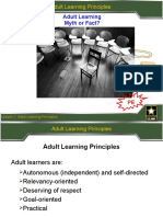 Adult Learning- PowerPoint